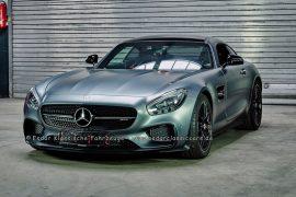 Mercedes-Benz GT S Edition 1 designo selenitgrau metallic