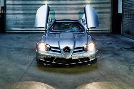 Mercedes-Benz SLR 722S McLaren Roadster crystal antimon grey metallic