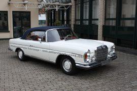 Mercedes-Benz 280 SE/9 3.5 weiß