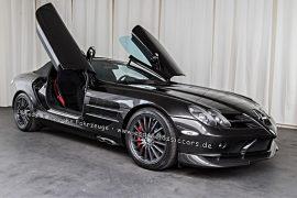 Mercedes-Benz SLR 722S Roadster crystal casserit black metallic