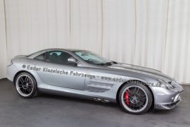 Mercedes-Benz SLR 722 McLaren Coupé crystal antimon grey metallic