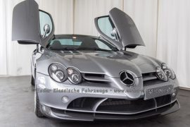 Mercedes-Benz SLR 722 McLaren Coupé crystal antimon grey metallic